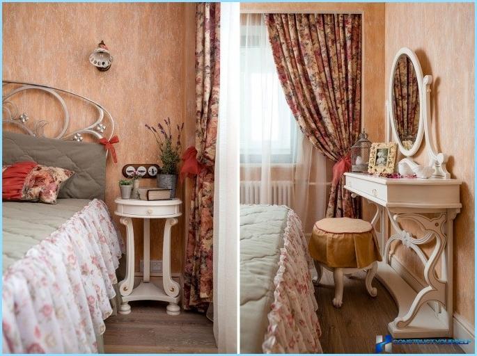 Спальня стиль прованс фото интерьер своими руками 867