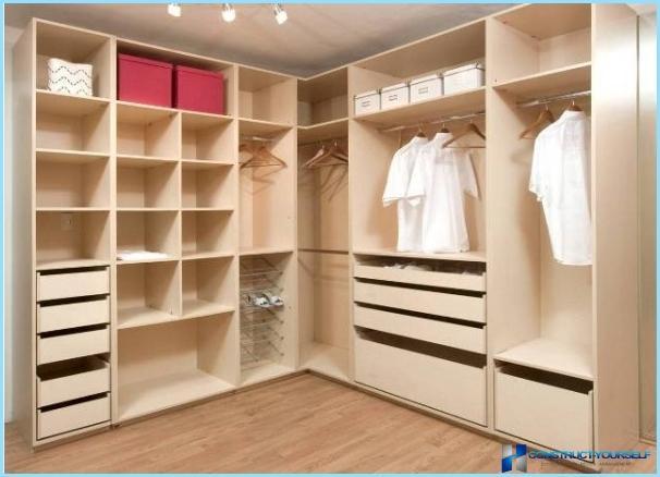 Bedroom Interior With Wardrobe