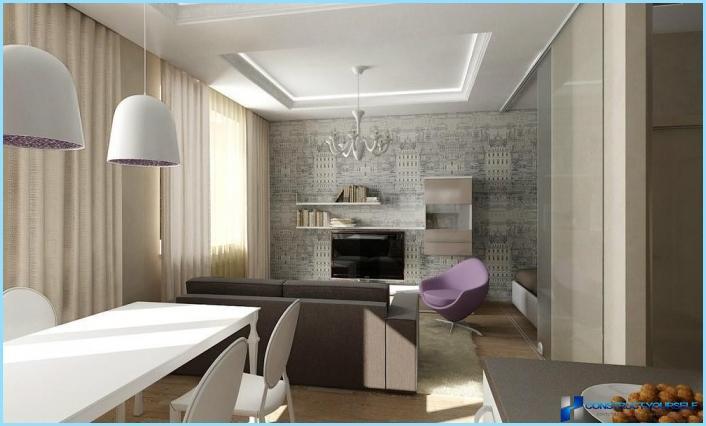 Das Design Aus Einem Wohnzimmer Mit Kochnische 18 20 25 Qm Fotos