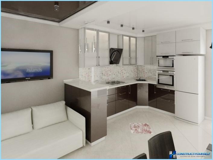 la progettazione di un soggiorno con angolo cottura 18, 20, 25 mq ... - Soggiorno Con Angolo Cottura 20 Mq
