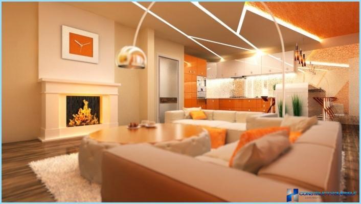 la progettazione di un soggiorno con angolo cottura 18, 20, 25 mq ... - Soggiorno Con Angolo Cottura 16 Mq 2