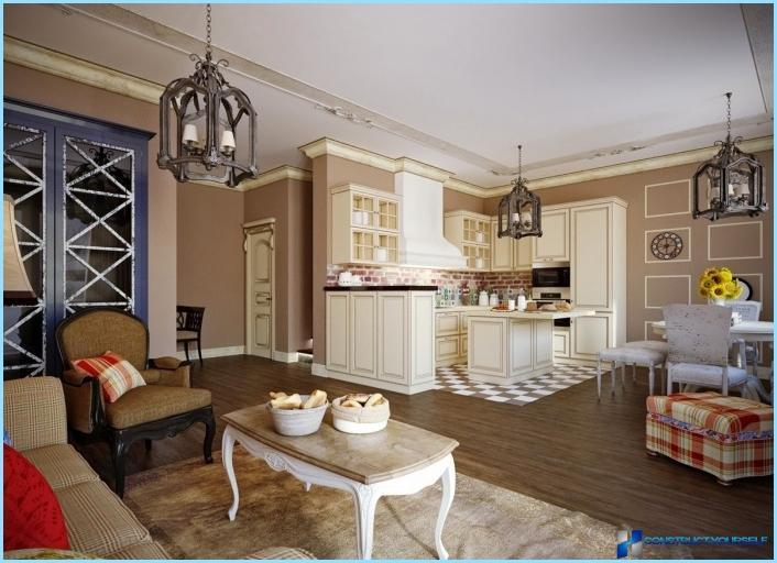 das design aus einem wohnzimmer mit kochnische 18 20 25 qm fotos. Black Bedroom Furniture Sets. Home Design Ideas