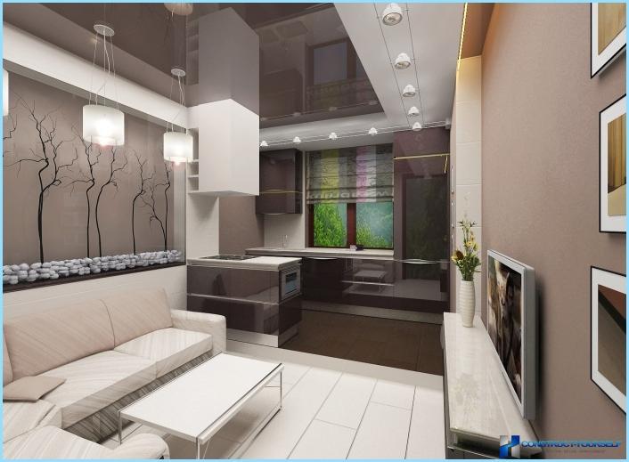 la progettazione di un soggiorno con angolo cottura 18, 20, 25 mq ... - Arredare Soggiorno 25 Mq