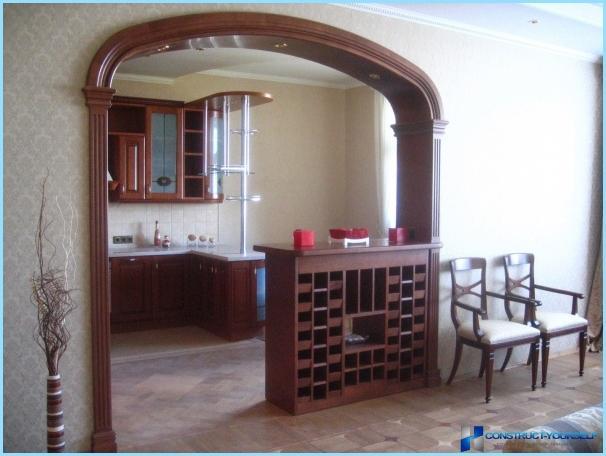 die trennwand zwischen k che und wohnzimmer fotos. Black Bedroom Furniture Sets. Home Design Ideas