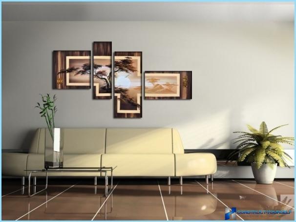 Modular interjers glezna