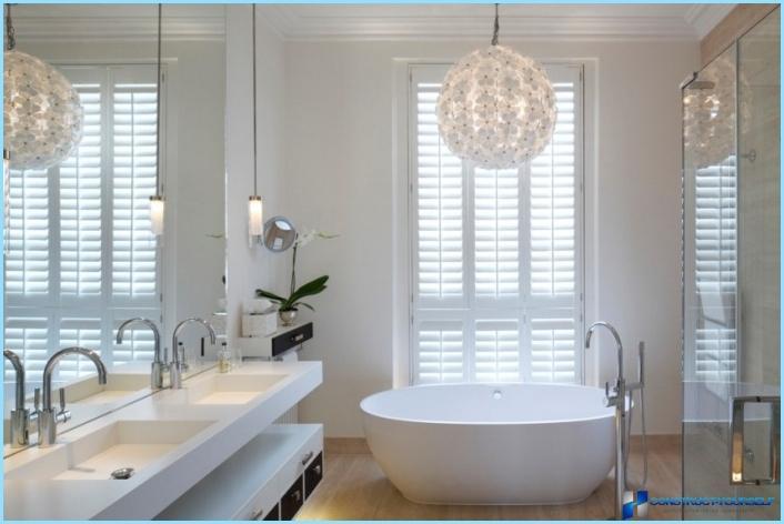 Освітлення ванної кімнати