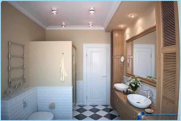Лампа в ванную своими руками