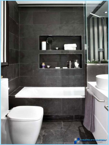 idee riparazione moderno per bagno insieme in un piccolo appartamento