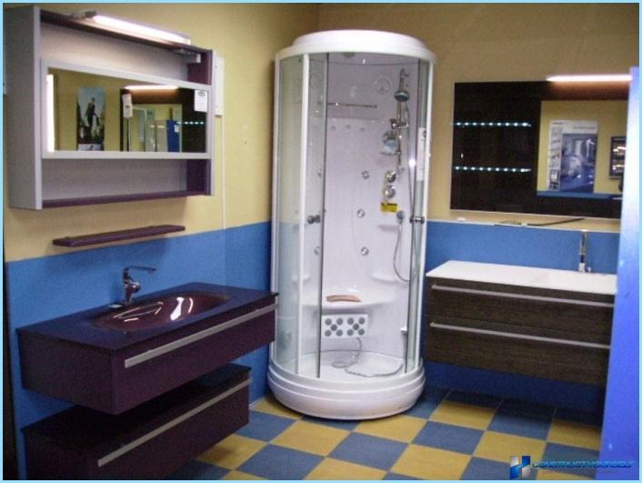 ภายในห้องน้ำรวมกับห้องอาบน้ำฝักบัว