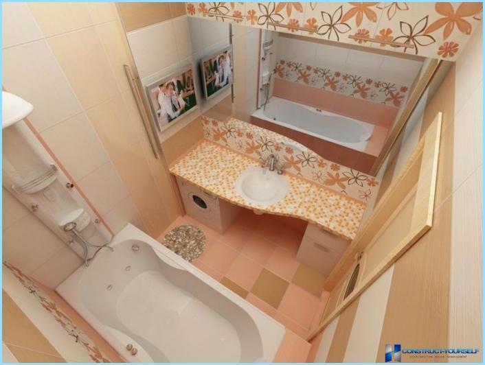 ซ่อมแซมที่ทันสมัยห้องน้ำขนาดเล็ก