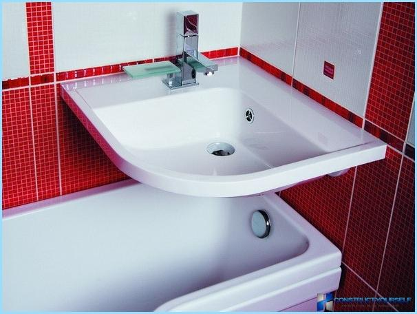 Modern repair small bathroom