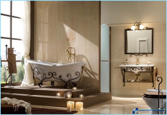 Banyo için emprenye: nasıl seçilir 27