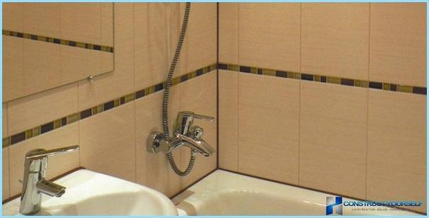 как выкладывать плитку на стыке с ванной
