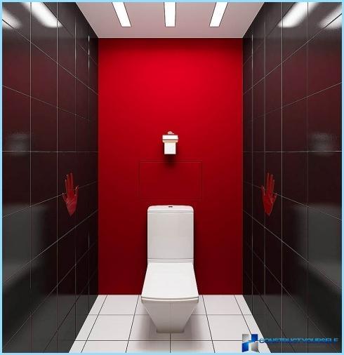 Інтер'єр туалету в квартирі