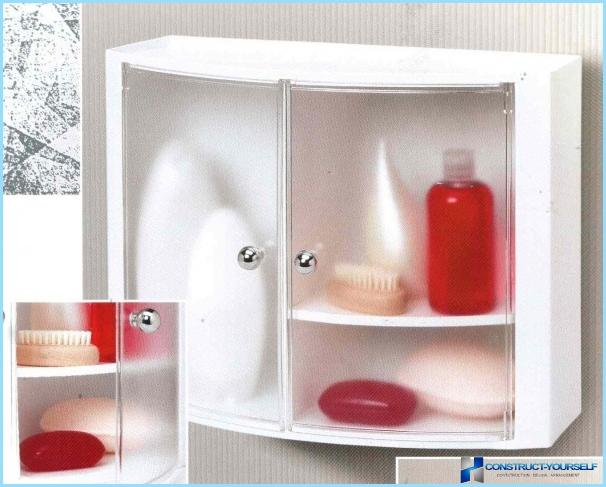 Полиці у ванну кімнату