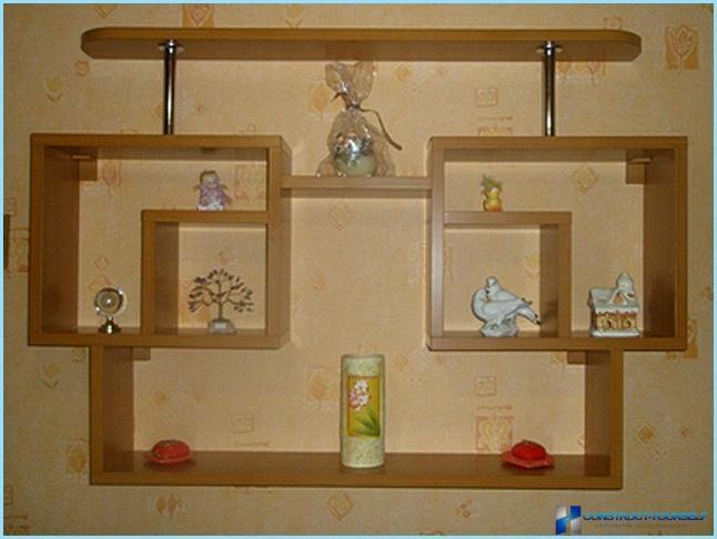 Декоративная полочка на кухню своими руками 39