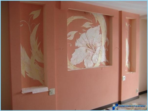 Украсить нишу в стене