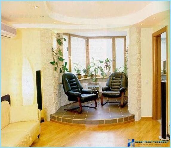 Кухня на балконе или лоджии: дизайн, интерьер + фото.