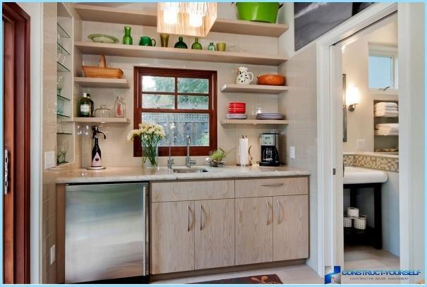 neliela virtuve interjera dizains