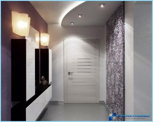 Дизайн интерьера прихожей в современном стиле
