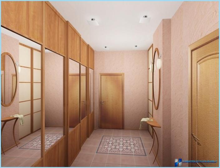 Узкие длинные прихожие дизайн в квартире