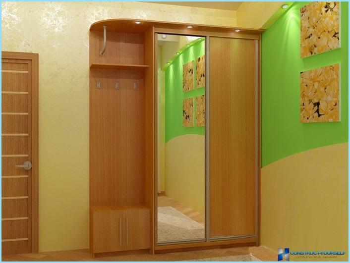 halle dizains mazs dzīvoklis