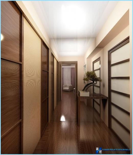 Die Gestaltung der Halle