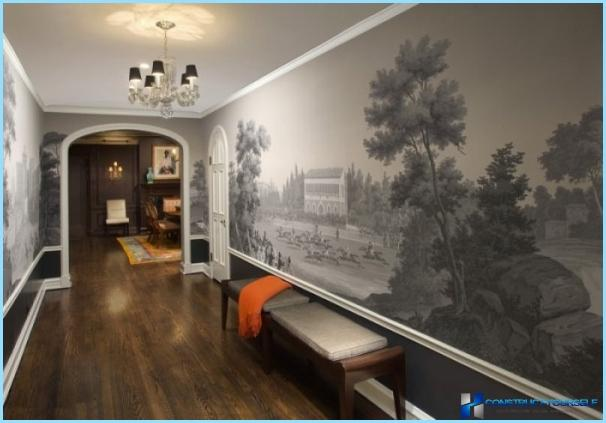 Photo sienas priekšnamā un gaitenī