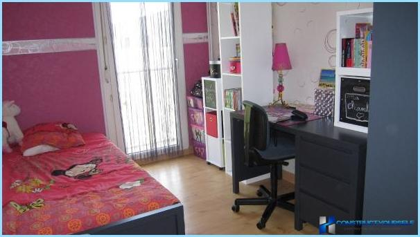 Interior room for teen girls
