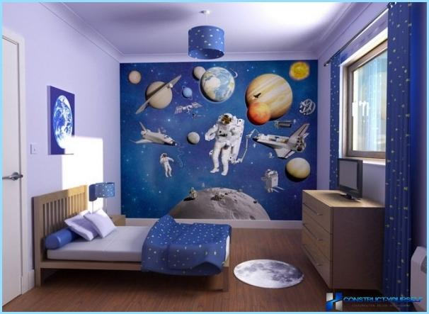 Child's room for a boy