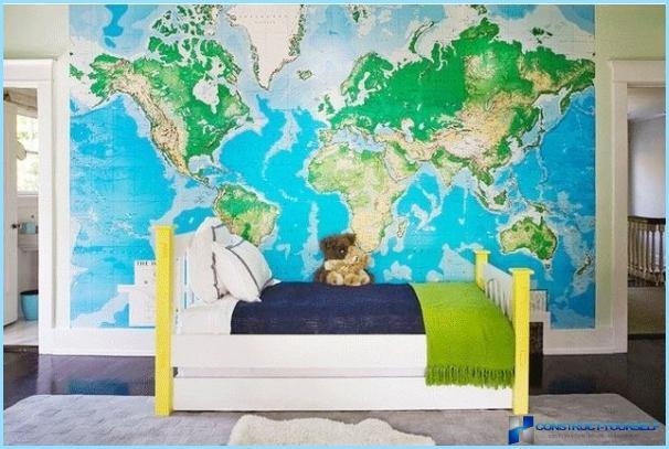 Mural sisätilojen varten lastenhuoneessa