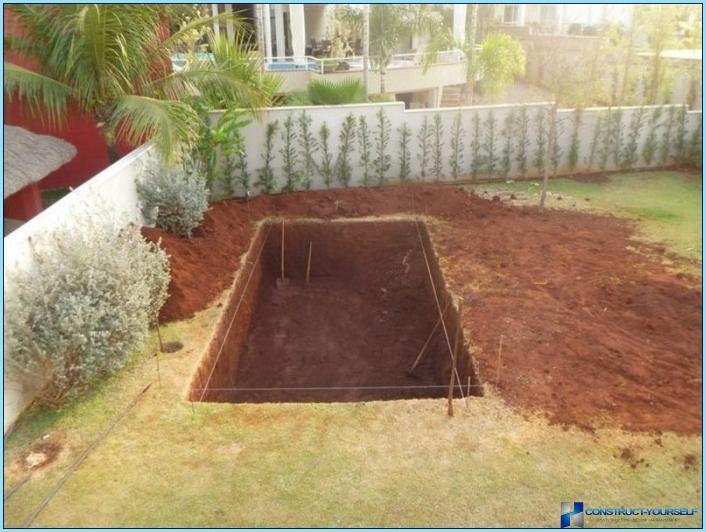 Mini Pool Garten