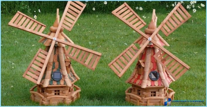 Как сделать ветряную мельницу своими руками