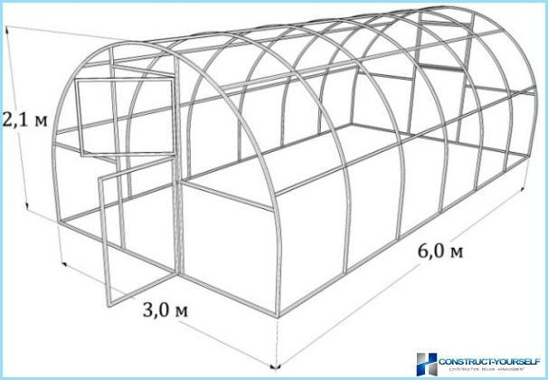 Kā veikt siltumnīca no profila caurules