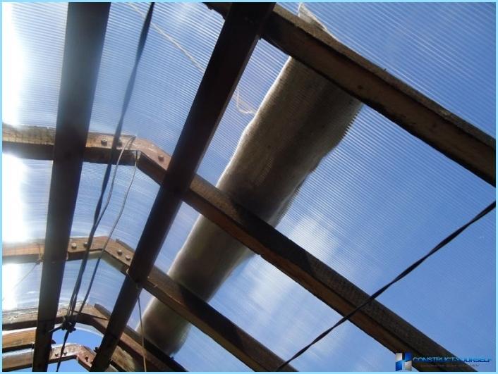58 fotogrāfiju: cik tuvu vecās siltumnīcas polikarbonāta šūnveida