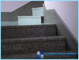 Tiling Schritte, Granit, Stein.