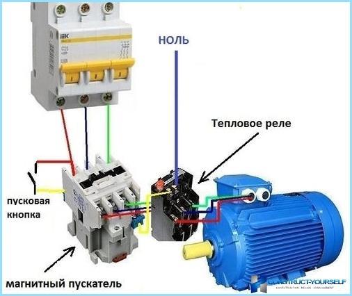 Schema elettrico start stop motore trifase nutchip un for Teleruttore schema