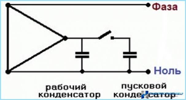 laid u0173 vienfazis variklis su 220 volt u0173 visoje kondensatorius