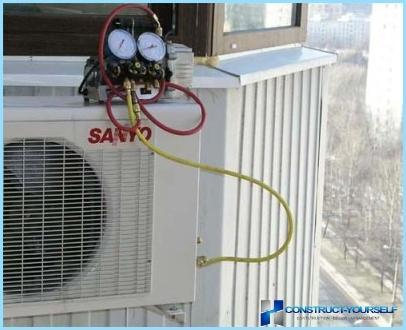 Kā savienot gaisa kondicionieris pie barošanas pati