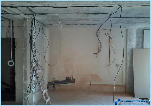 Wiring Regulations in the house alone