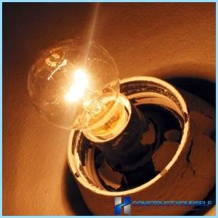 Iemesli mirgošanas gaismas dzīvoklī