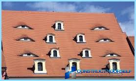 Mansarda jumta logs