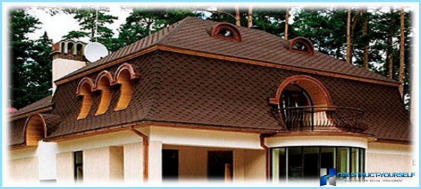 Using the sling design mansard roof