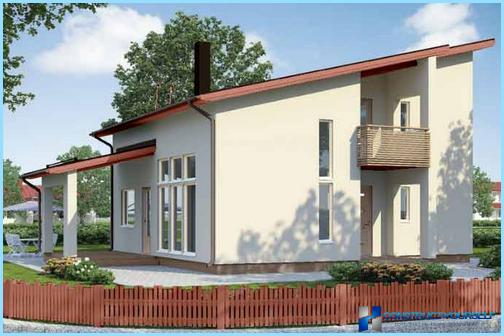 Arten von Dächern von Privathäusern