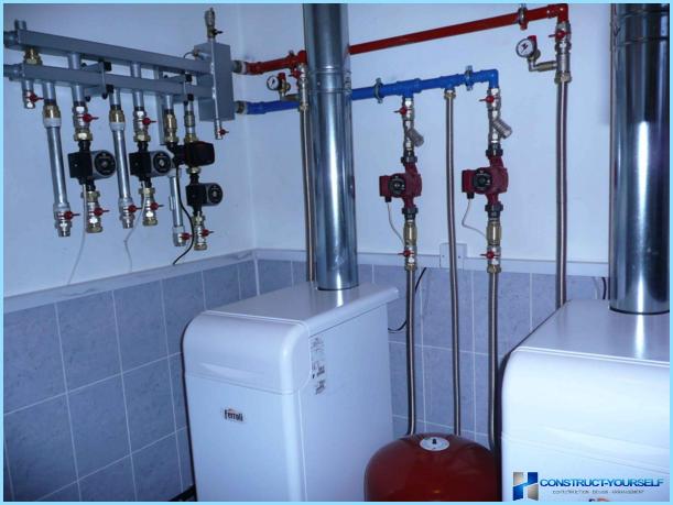 Газовый котел для отопления частного дома монтаж своими руками 13