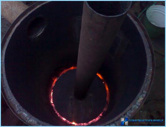 Видео печь бубафоня своими руками
