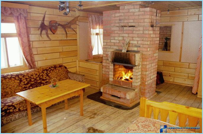 Печка в дачном доме