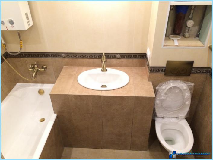 Дизайн совмещенной ванны с туалетом 3 кв.м