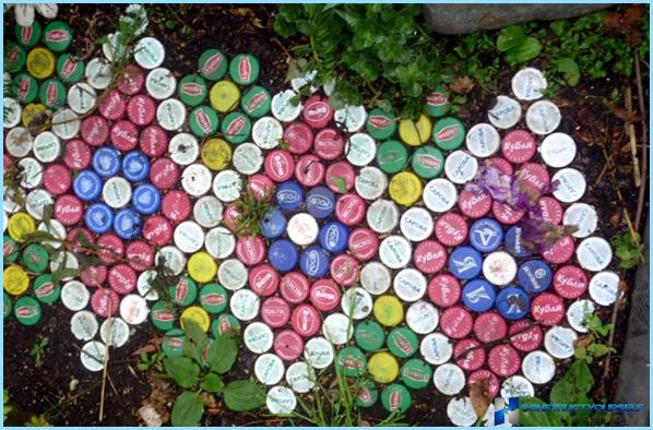 Dārza celiņi plastmasa