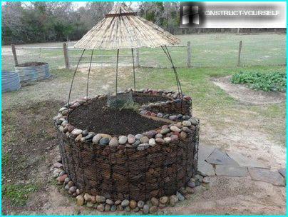 Geschützt vor der Sonne Garten